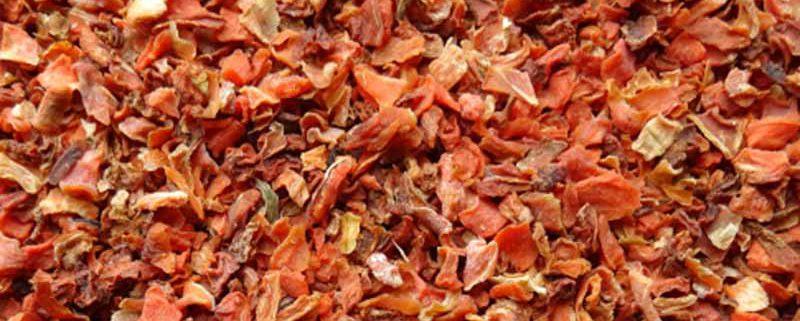 Karottenwürfel